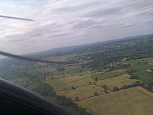Approach To Redhill Aerodrome (EGKR) in a Piper Cherokee.jpg