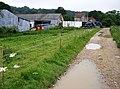 Approaching Combley Farm - geograph.org.uk - 472547.jpg