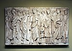 Ara Pacis relief 02 - replica in Pushkin museum by shakko.jpg