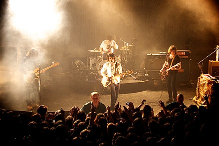 Arctic Monkeys at the Shepherd's Bush Empire, London, March 2010