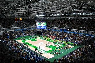 Carioca Arena 1 - The interior of Carioca Arena 1