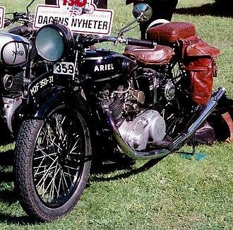 Ariel Motorcycles - Image: Ariel M2F 350cc 1931