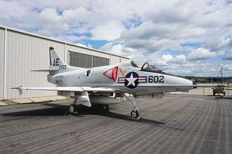 Arkansas Air & Military Museum - Image: Arkansas Air & Military Museum May 2017 57 (Douglas A 4 Skyhawk)