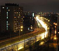 Armii Krajowej street in Częstochowa 3.jpg