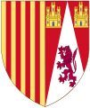 Arms of Juana Enríquez, Queen of Aragon.svg