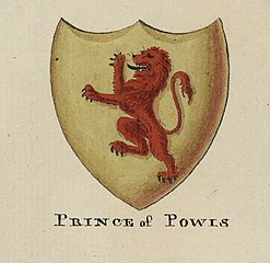 Arms of the Prince of Powis