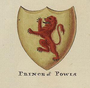 Kingdom of Powys - Coat of Arms of the Powys dynasty