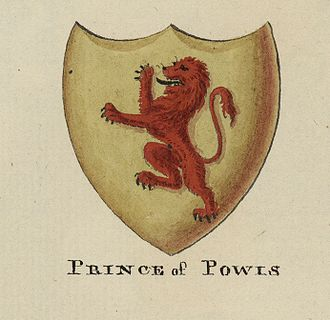 Kingdom of Powys - Coat of Arms of the Powys dynasty