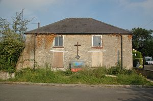 Arncott - Disused Methodist chapel in Green Lane, Upper Arncott