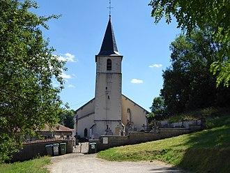 Aroffe - The church in Aroffe