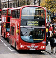 Arriva London bus route 137 Oxford Street December 2006.jpg