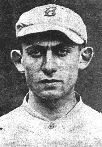 Art Nehf - Nehf as a member of the Boston Braves in 1918.