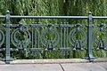 Art nouveau fence near U-Bahnhof Roßauer Lände, Vienna.jpg
