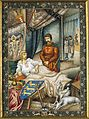 Arthur Szyk (1894-1951). Le Talisman, The Lionheart Lies in his Pavilion (1927), Paris.jpg
