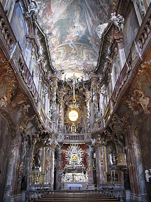 1746 in architecture - Asamkirche, Munich