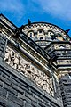 Assassination frieze and tower - Garfield Monument - Lake View Cemetery - 2015-04-04 (21580594330).jpg