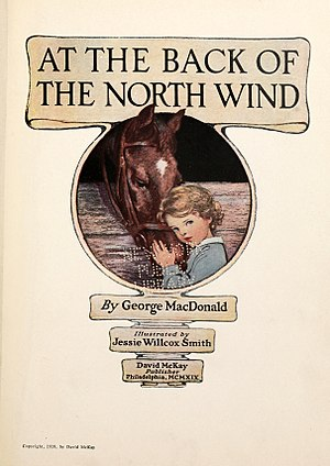 "Novel ""At the Back of the North Wind"" (edisi 1919)"