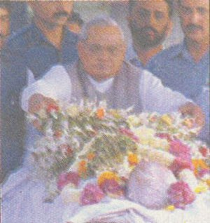 Dattopant Thengadi - Atal Bihari Vajpayee giving tribute to Dattopant Thengadi.