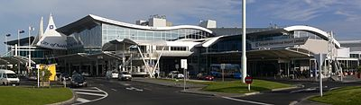 International Terminal at the Auckland International Airport