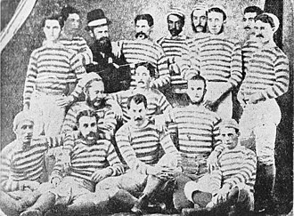 Auckland rugby union team - The Auckland team of 1875