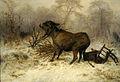 August Friedrich Schenck-Burro sorprendido por un lobo.jpg