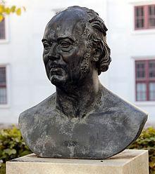 Denkmal in den Franckeschen Stiftungen (Quelle: Wikimedia)
