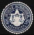 August Schröder, Kürschner in Nürnberg, Siegelmarke.jpg