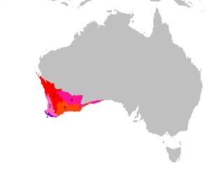 Southwest Australia Biogeographic region of Western Australia