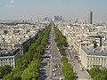 Avenue de la grande armee, shot from Arc de Triomphe - panoramio.jpg