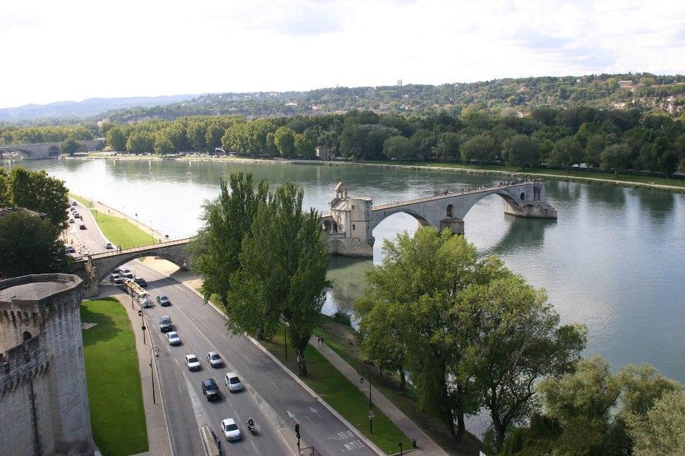Avignon bridge by Rosier