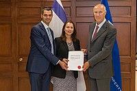 Aviva Raz-Shechter of Israel Joins the Hague System.jpg