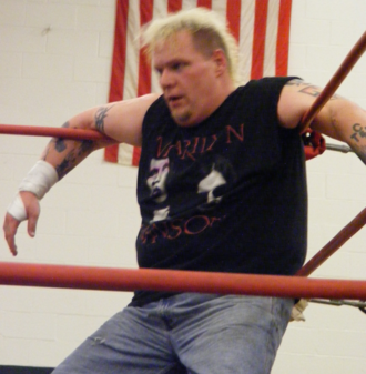 Axl Rotten - Rotten wrestling on the independent circuit in 2009