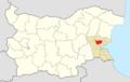 Aytos Municipality Within Bulgaria.png