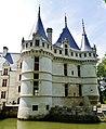 Azay-le-Rideaux Château d'Azay-le-Rideau Westseite 4.jpg