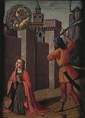 Onthoofding van de heilige Catharina van Alexandria