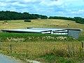 B50 Hochmoselübergang – Hunsrückseite – Brückenbauwerk 28 - Überführung Wildbrücke am 26.Juni 2014 - panoramio.jpg