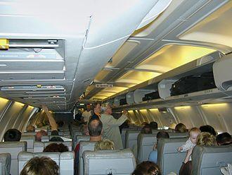 Boarding (transport) - Image: B737 500.Economycabin