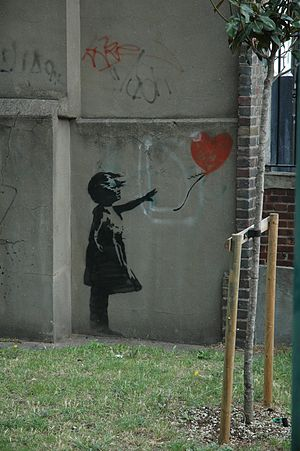 Match Point - Image: BANKSY LONDON
