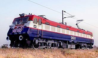Bharat Heavy Electricals - BHEL manufactured locomotive