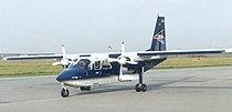 BN-2B der FLN auf dem Flugplatz Norden-Norddeich.jpg