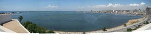 Baía de Luanda - panorama
