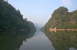 Ba Bể National Park - Ba Bể Lake in the dry season