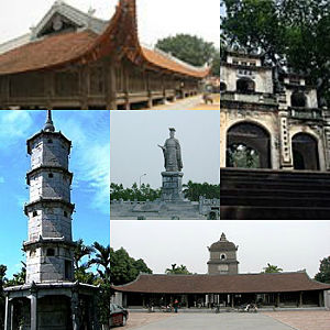 Bắc Ninh Province - Đình Bảng communal house, Bà Chúa Kho, Dâu Pagoda, Bút Tháp Temple,, Lý Thái Tổ