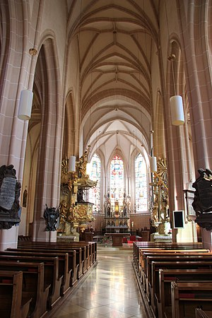 Ave verum corpus (Mozart) - St. Stephan, Baden,  the church for which Mozart composed the motet