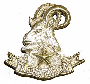 Northern Light Infantry - Image: Badge of Northern Light Infantry