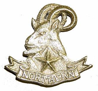 Northern Light Infantry - Image: Badge of Northern Light Infantry