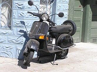 Scooter (motorcycle) - Bajaj Chetak