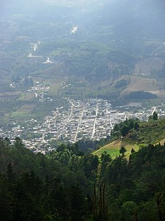 Mataquescuintla Municipality in Jalapa, Guatemala