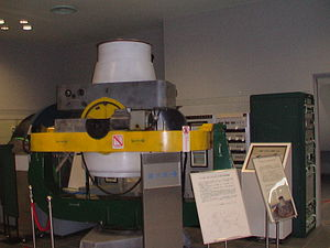 Schmidt camera - One of the Baker-Nunn cameras used by the Smithsonian satellite-tracking program.