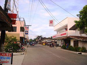 Baler, Aurora - Downtown area
